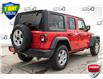 2021 Jeep Wrangler Unlimited Sport Red