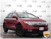 2009 Ford Edge Limited Red