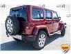 2012 Jeep Wrangler Unlimited Sahara Red