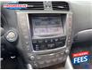 2011 Lexus IS 350C Base (Stk: B2505515P) in Sarnia - Image 6 of 8