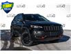 2021 Jeep Cherokee Trailhawk (Stk: 34666) in Barrie - Image 1 of 18