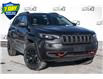 2021 Jeep Cherokee Trailhawk (Stk: 34708) in Barrie - Image 1 of 27