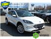 2021 Ford Escape Titanium Hybrid White