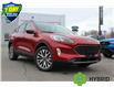 2021 Ford Escape Titanium Hybrid Red
