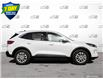 2021 Ford Escape SE White