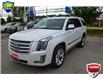 2016 Cadillac Escalade Platinum White