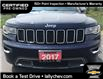 2017 Jeep Grand Cherokee Limited (Stk: R02691) in Tilbury - Image 10 of 22