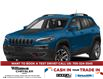 2021 Jeep Cherokee Trailhawk (Stk: 105-21D) in Lindsay - Image 1 of 9