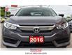 2016 Honda Civic Sedan BLUETOOTH   HEATED SEATS   BACK UP (Stk: R9840) in St. Catharines - Image 3 of 21