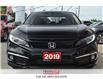 2019 Honda Civic Sedan NAV   LEATHER   HEATED SEATS   REAR CAM (Stk: H19304A) in St. Catharines - Image 3 of 26