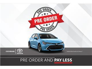 2021 - Corolla Hatchback